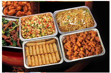 we offer a full range of party trays at affordable prices please your guests we can provide you with exciting and delicious dishes to complete any event - Panda Garden Sugar Land